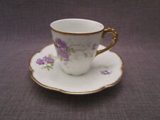Tasse à café ancienne en porcelaine de Limoges