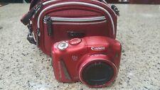 Canon powershot 14.1mp 12x Optical Zoom SX150 IS Digital Camera w/ free case