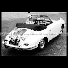 #pha.019781 Photo PORSCHE 356 RIJKSPOLITIE (POLICE NETHERLANDS) Car Auto