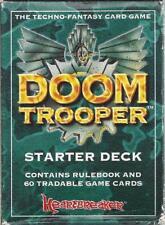 Vintage Doom Trooper 1994 Starter Deck