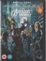 AVENGERS ASSEMBLE DVD- MARVEL - RENTAL COPY - UK RELEASE - NOT SEALED/ BRAND NEW