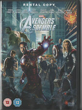 AVENGERS ASSEMBLE DVD- MARVEL - RENTAL COPY - UK RELEASE - NOT SEALED/ BRAND NEW