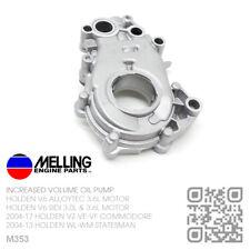 MELLING HI VOL OIL PUMP LLT/LFX V6 SIDI 3.6L MOTOR [HOLDEN VE-VF COMMODORE/SV6]