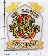 Missouri - St Louis Fire Dept Honor Guard MO Patch