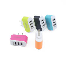 3USB Multi-port Charging plug Mobile Phone/Tablet PC Universal Travel Charger