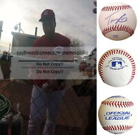 Tony Cruz Cincinnati Reds Signed Autograph Baseball Cardinals K.C. Royals Proof