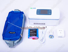 New Insulin Cooler Refrigerated Box Portable Drug Reefer M-cool B