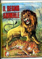 Album di figurine #IL REGNO ANIMALE # Albi del sapere #Edizioni C.D.C. (anni'70)