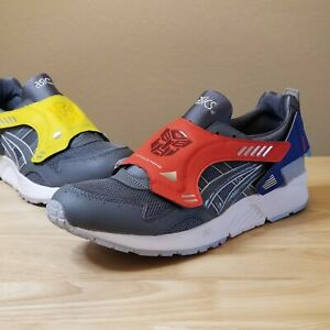 Asics x Transformers GEL-Lyte V Casual Shoes Grey/Blue/Red 1191A 020 Size 12