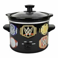 Uncanny Brands WWE Championship Belt 2 QT Slow Cooker