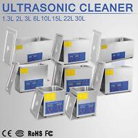 1.3L, 2L, 3L, 6L, 10L, 15L, 22L, 30L Ultrasonic Cleaners Supplies Timer
