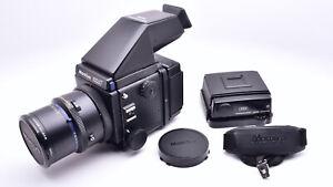 Mamiya RZ67 Pro Medium Format Film Camera AE Finder 180mm Lens 120 & 220 (#8902)