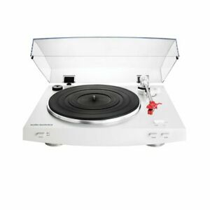 Audio-Technica AT-LP3 WH White Fully Automatic Turntable + AT91R