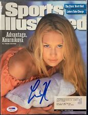 Anna Kournikova Signed Sports Illustrated Magazine 6/5/00 Auto PSA DNA COA
