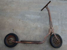 Vintage Hamilton Pressed Steel Scooter.