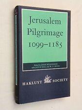 1988, Jerusalem Pilgrimage 1099-1185 by John Wilkinson, HBw/dj, Hakluyt Soc, VG