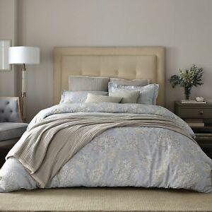 Wamsutta Knightsbridge Vintage Floral Comforter & 2 Shams Slate Toned King $200