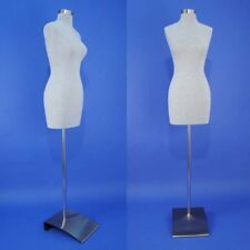 Brand New Gray Female Mannequin Dress Form F03-G