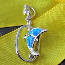 Markenlose Opal Echtschmuck-Halsketten & -Anhänger aus Sterlingsilber
