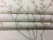 Laura Ashley Puss willow off white/dove grey made to measure roman blinds