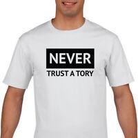 Never Trust A Tory T Shirt - F*ck Boris T Shirt - Anti Tory T shirt