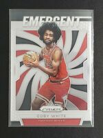 2019-20 Panini Prizm Coby White RC, Emergent Rookie Card, Chicago Bulls