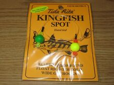 6 KINGFISH SPOT RIGS TIDE RITE R258GY BEADED 2 DROP SALTWATER RIG FISHING