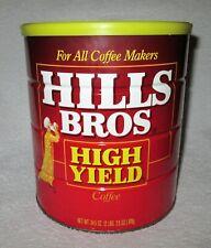 Vintage Hills Bros High Yield Coffee Net Wt. 34.5 Oz (2 lbs. 2.5 oz) 978g
