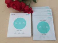 MINTSKIN MUD DETOX CLAY MASK FACE + BODY 4 X MUD MASKS NEW IN BOX