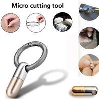 Stahl Mini! mit Schlüsselring Entboxen Werkzeug zum Schneiden Schneiden Messer