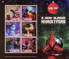 Antigua & Barbuda 2015 MNH Star Trek Klingon Khristmas 6v M/S Christmas Stamps