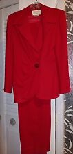 Rickie Freeman Red Suit Size 6