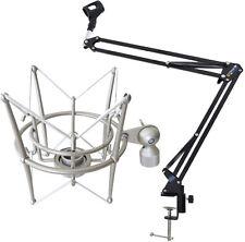 KEEPDRUM NB35 Mikrofonstativ Tisch-Mikrofonarm + MS089SV Spinne
