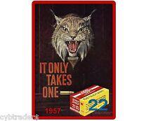 1957 .22 Ammo Winchester  Refrigerator / Tool Box / Gun Cabinet / Magnet