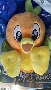 Disney Orange Bird Big Feet Plush New In Hand