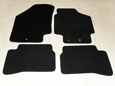 Kia Rio 2010-2011 Fully Tailored Car mats Black.
