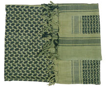 Shemagh - Head Over - Scarf - Green Black - Large - 15% OFF 2 or more