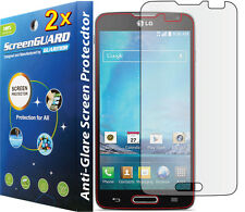 2x Anti-Glare LCD Screen Protector Guard Film T-Mobile LG Optimus L90 D405 D415
