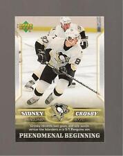 Sidney Crosby Rookie Upper deck 2006 Phenomenal Beginings Card #7