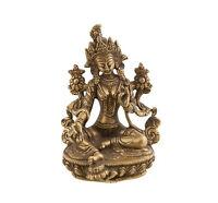 Estatua Tibetano De Verde Tara Verde Deity Budista 0kg800 Peterandclo 7385