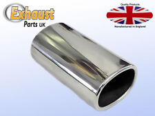 Square Exhaust Tail Pipe Stainless Steel Sports Trim