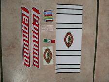 kit stickers adesivi per bici da corsa vintage LEGNANO  7 pezzi