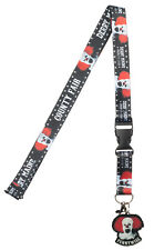 Stephen King's IT Pennywise Breakaway Lanyard with ID Holder and Charm