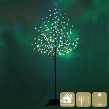 TREE WITH 210 LIGHTS LED METAL MULTICOLOUR (12321)