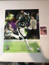 Jay Ajayi Autograph Signed Eagles Super Bowl LII 16x20 Photo JSA