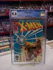 UNCANNY X-MEN #221 (Marvel Comics, 1987) CGC Graded 9.4! ~ White Pages