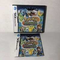 Pokemon Ranger: Shadows of Almia (Nintendo DS, 2008) Case / Manual Only No Game