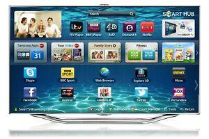 "Samsung UE55ES8000 55"" 3D 1080p HD LED Internet TV Full Smart"