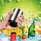 Pocket Opening Stainless Steel Bottle Opener Push Cap Soda Down Beer LN