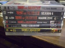 (7) Sons of Anarchy Season DVD Lot: SOA Seasons 1-7  Complete Series  Brand New